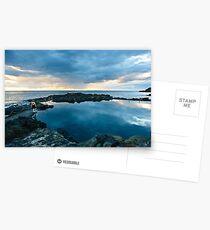 Rock Pool - KIama Postcards