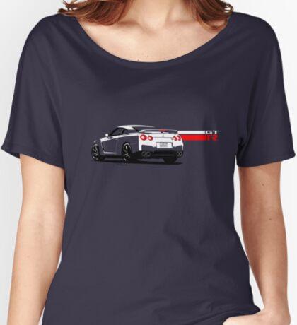 Nissan GT-R Women's Relaxed Fit T-Shirt