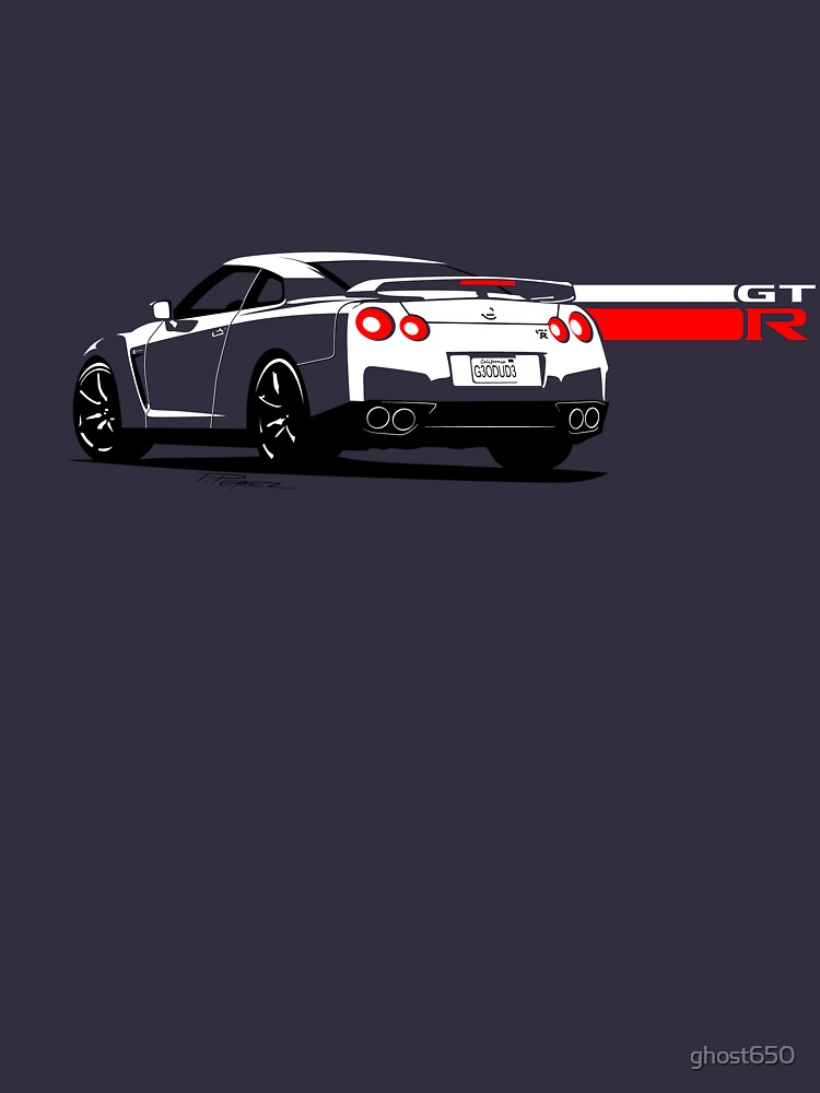 Nissan GT-R by ghost650