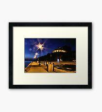 Lights Framed Print