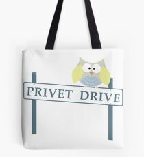 Number 4 Privet Drive Tote Bag