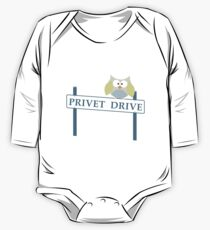 Number 4 Privet Drive One Piece - Long Sleeve