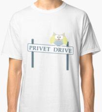 Number 4 Privet Drive Classic T-Shirt