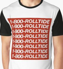 1-800-ROLLTIDE  – University of Alabama Hotline Bling Graphic T-Shirt