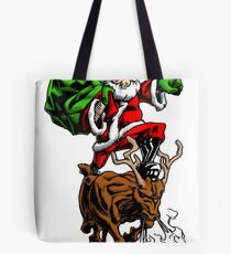 Santa Adventurer Extraordinaire  Tote Bag