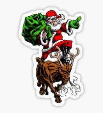 Santa Adventurer Extraordinaire  Sticker