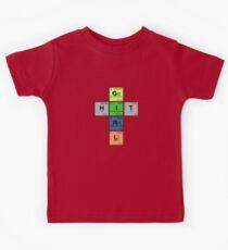 HITGIRL - Periodic Elements Scramble! Kids Tee