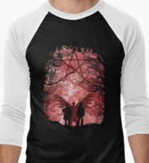 Famous Hunters Men's Baseball ¾ T-Shirt