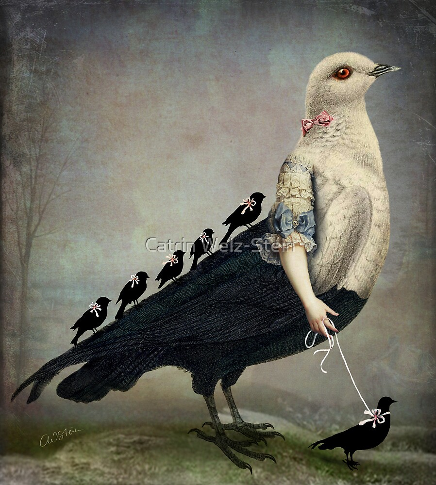 Morning Walk by Catrin Welz-Stein