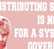 Dennis Monty Python Sticker