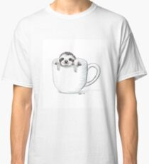 Sloth in a Cup Classic T-Shirt