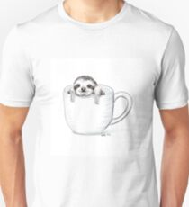 Sloth in a Cup T-Shirt