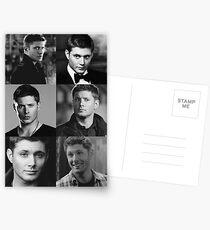Dean Winchester Profile Edit Postcards