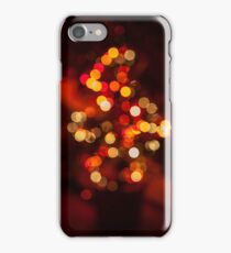 Abstract Christmas Tree iPhone Case/Skin