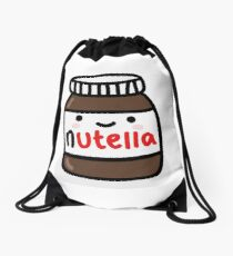 Nutella Jar Drawstring Bag