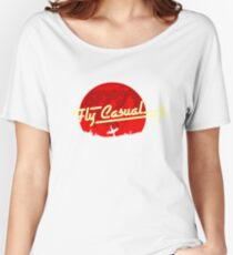 Fly Casual Women's Relaxed Fit T-Shirt