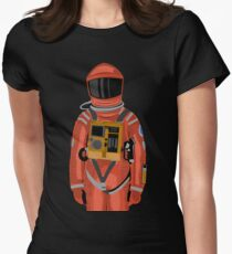 Dave the astronaut from 2001: A Space Odyssey Womens Fitted T-Shirt