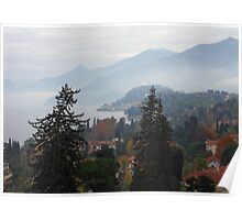 Lake Como Dream Land Poster