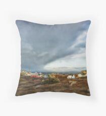 Peggys Cove Nova Scotia Canada Throw Pillow