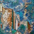 Geodetic columns in turquoise by nexus7