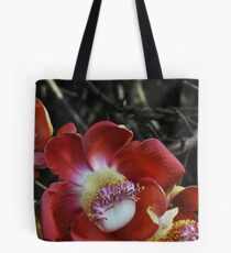 flower of the cannonball Tote Bag