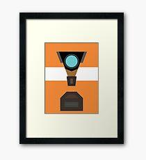 Claptrap Framed Print