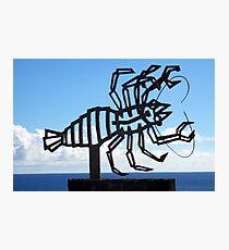 Jameos del Agua Lobster Photographic Print