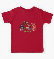 Camiseta para niños Woodland Critter Christmas