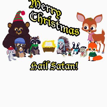 South Park Woodland Critter Christmas.Woodland Critter Christmas Women S Fitted V Neck T Shirt