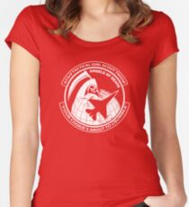 Girl Scout Parody Women's Fitted Scoop T-Shirt