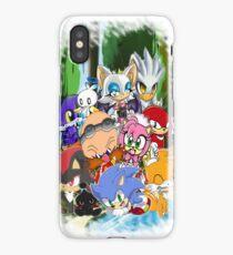 Sonic chibi iPhone Case/Skin
