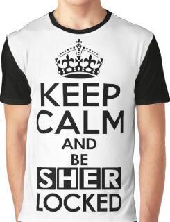 Sherlock - Keep Calm And Be SherLocked Graphic T-Shirt