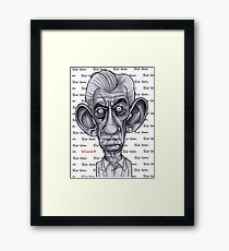 Sir Ian Framed Print