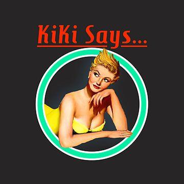 Kiki Says Logo Phone Case by KikiSays