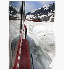 Icefields Bus Poster