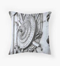 heraldic relief Throw Pillow