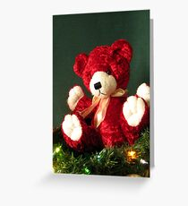 HOLIDAY TEDDY Greeting Card