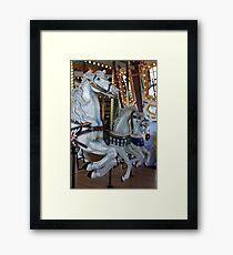 Edmonton Carousel Framed Print