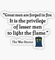Light the Flame Sticker