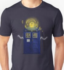 TARDIS - A CRACK IN TIME T-Shirt