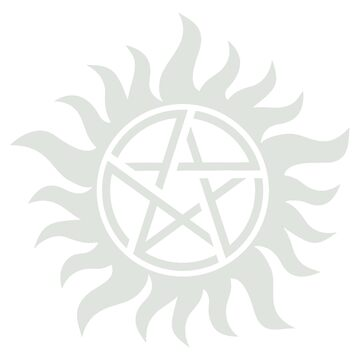 Supernatural Pentagram by jessiejade95