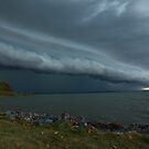 Wellington Point Gust Front by Anthony Cornelius