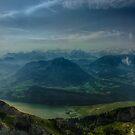 Emerald Valleys by Adam Northam