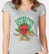 Veganism Women's Fitted Scoop T-Shirt