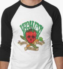 Veganism Men's Baseball ¾ T-Shirt