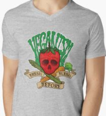 Veganism Men's V-Neck T-Shirt