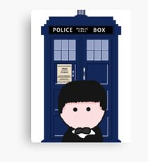 The 2nd Doctor Canvas Print
