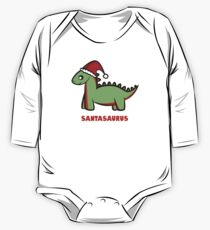 Santasaurus  One Piece - Long Sleeve