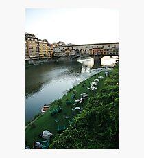 Ponte Vecchio Photographic Print