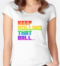 Katamari - Keep rolling that ball Women's Fitted Scoop T-Shirt